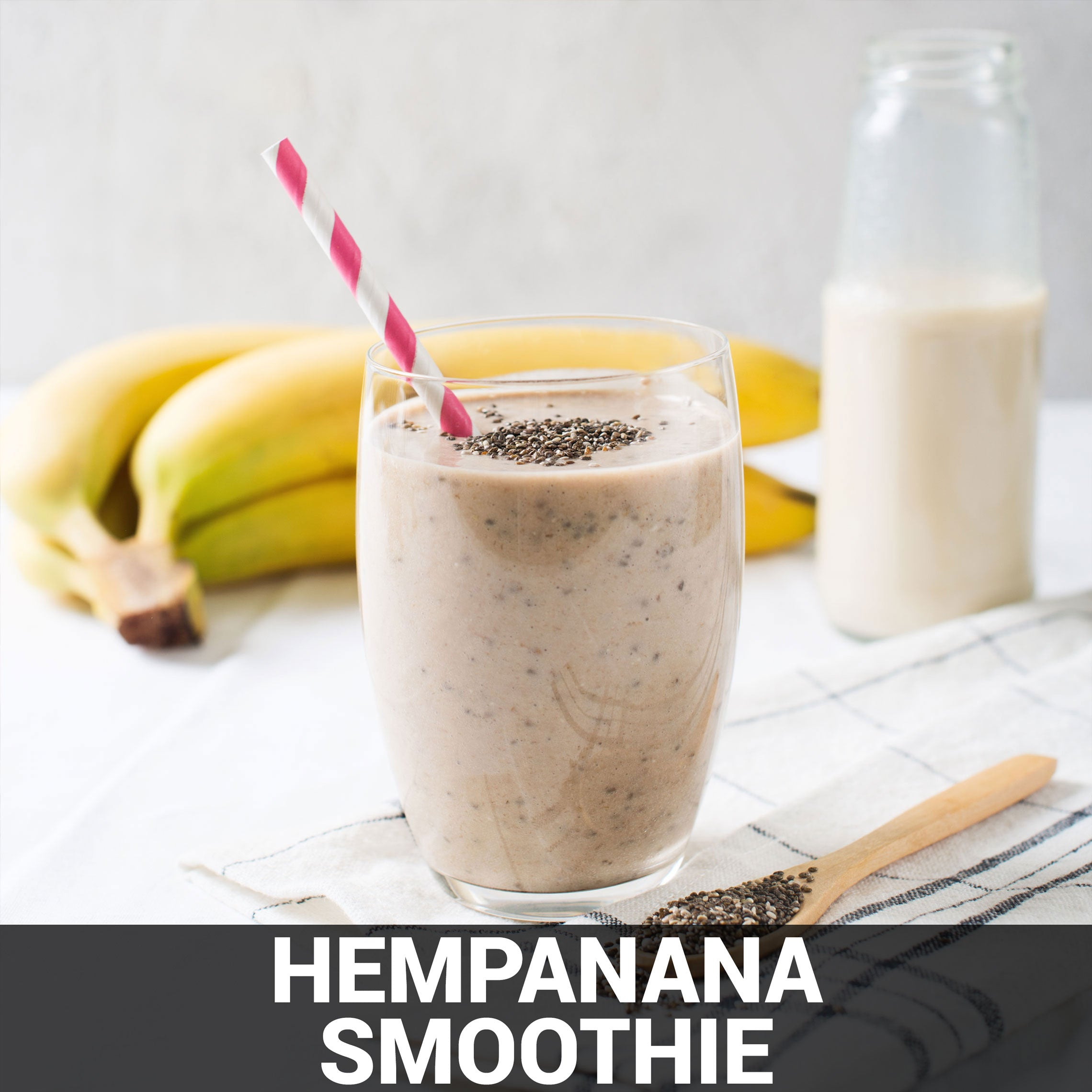 Hempanana Smoothie Recipe - Foods Alive