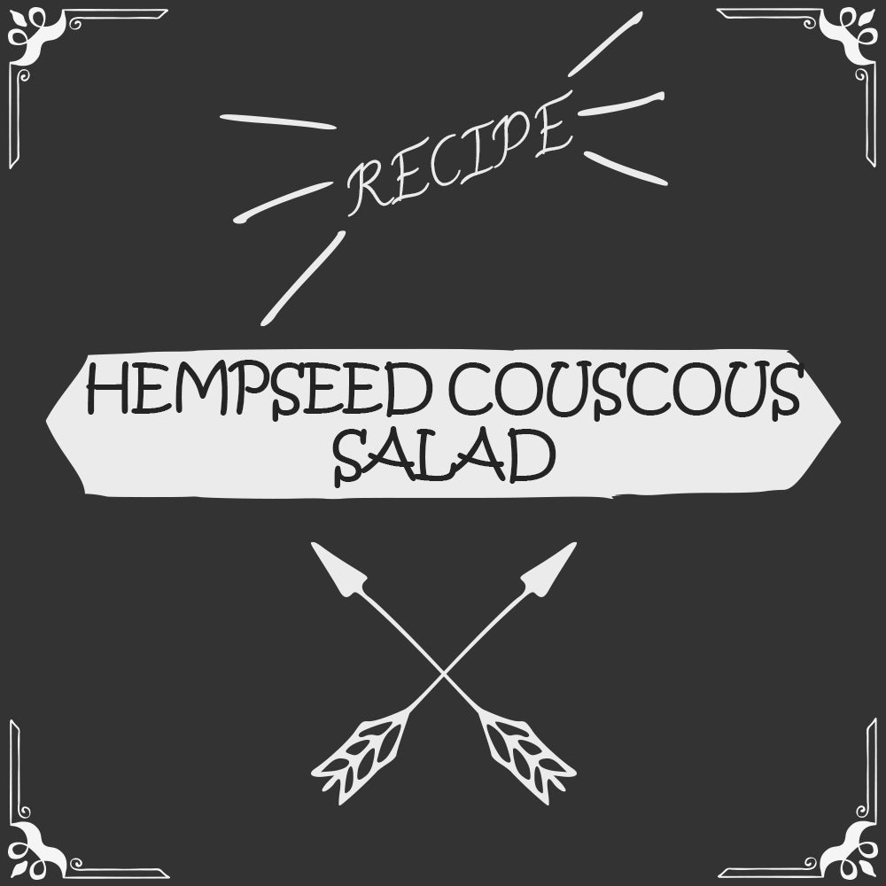 "Hempseed ""Couscous"" Salad Recipe - Foods Alive"