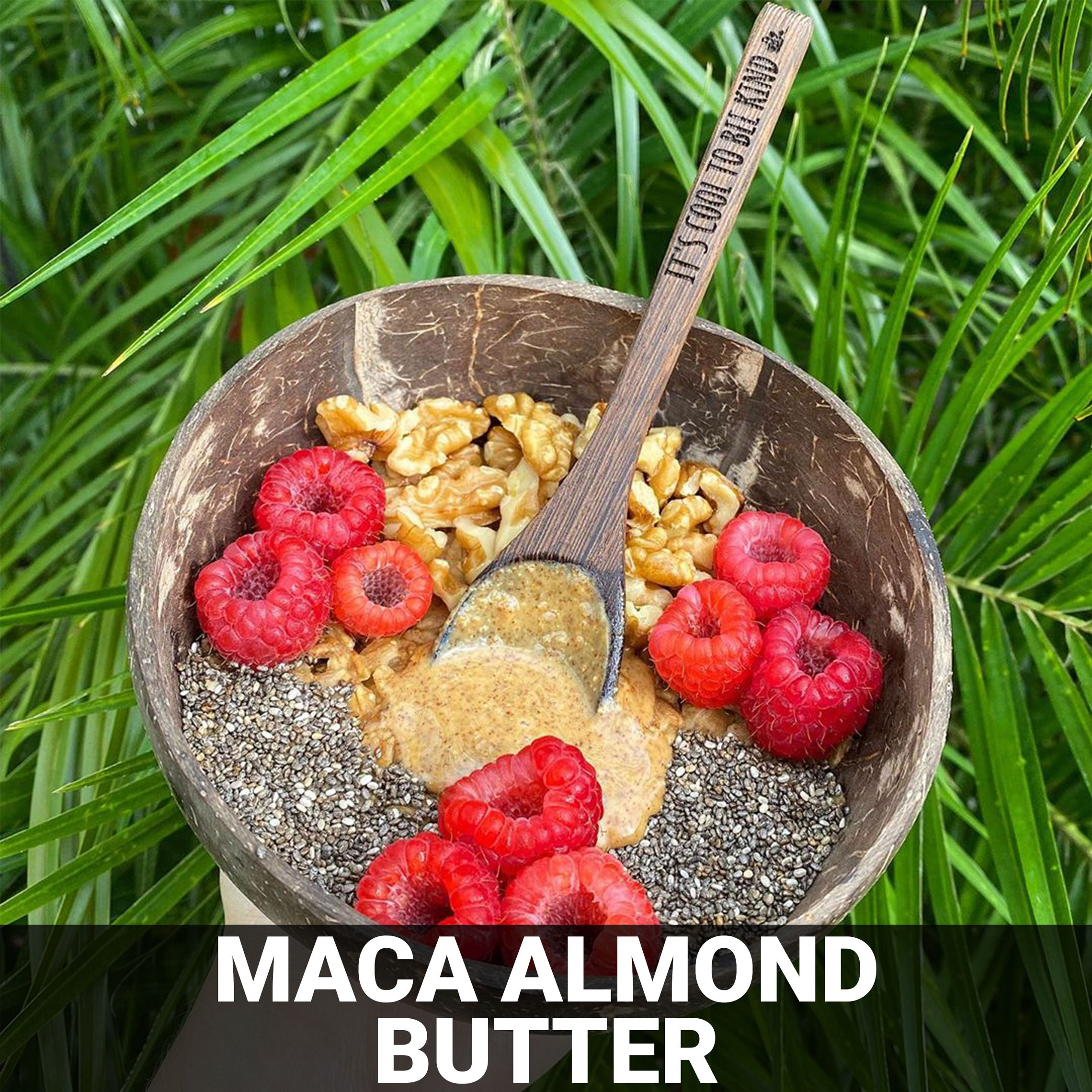 Maca Almond Butter Recipe - Foods Alive