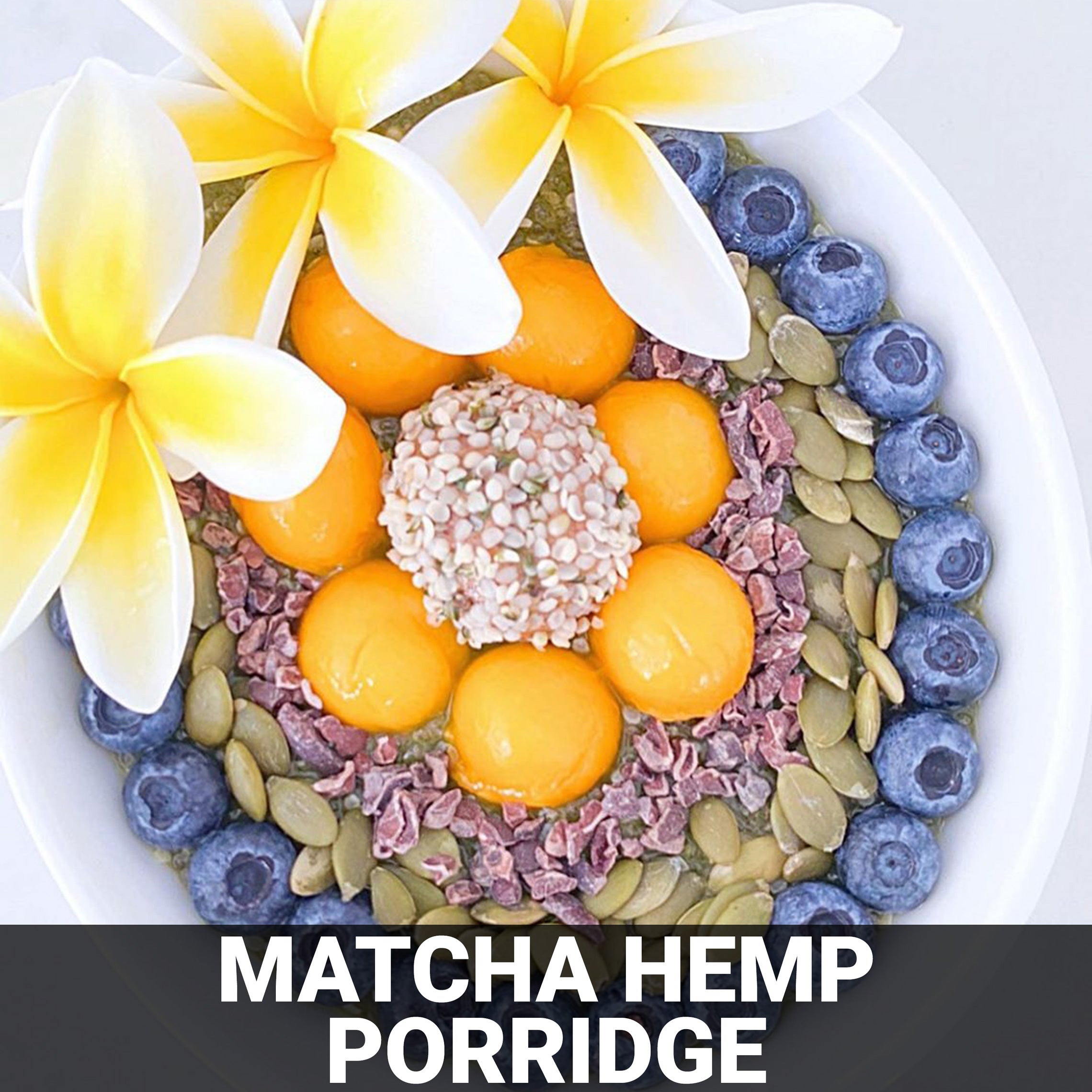 Matcha Hemp Porridge Recipe - Foods Alive