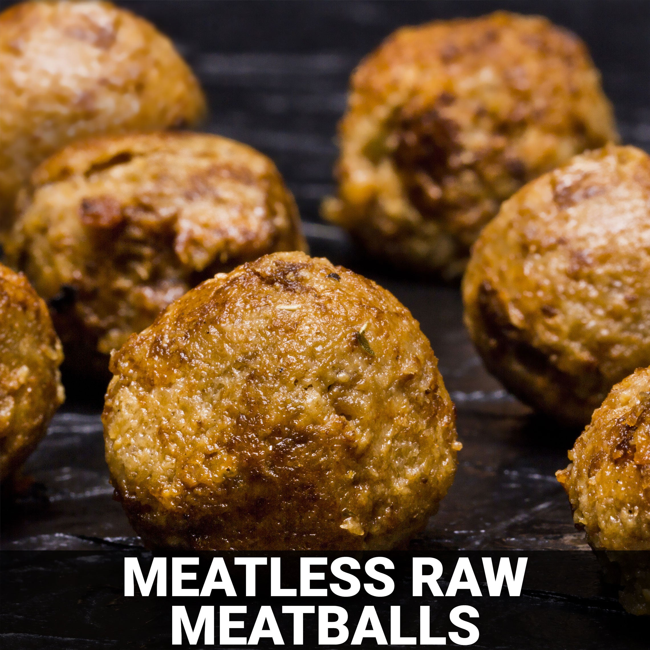 Meatless Raw Meatballs Recipe - Foods Alive