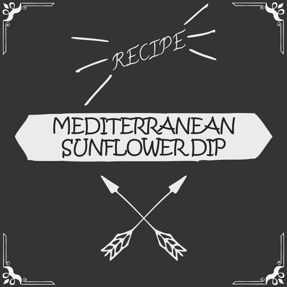 Mediterranean Sunflower Seed Dip Recipe - Foods Alive