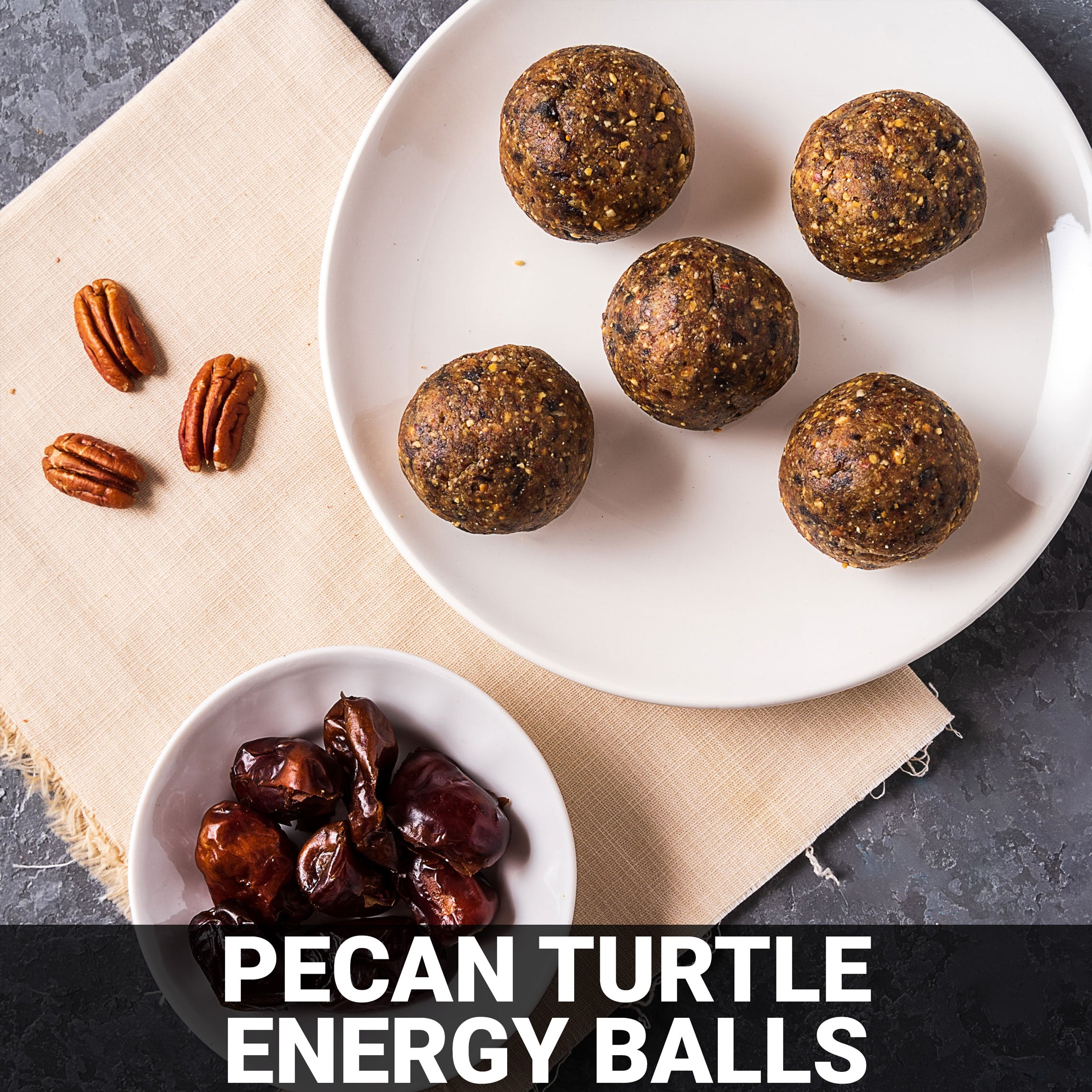 Pecan Turtle Energy Balls Recipe - Foods Alive