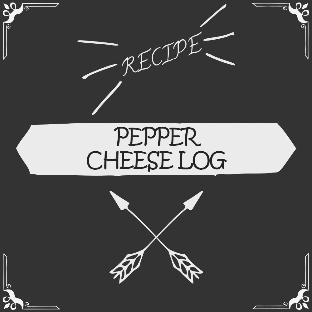 Pepper Cheese Log Recipe - Foods Alive