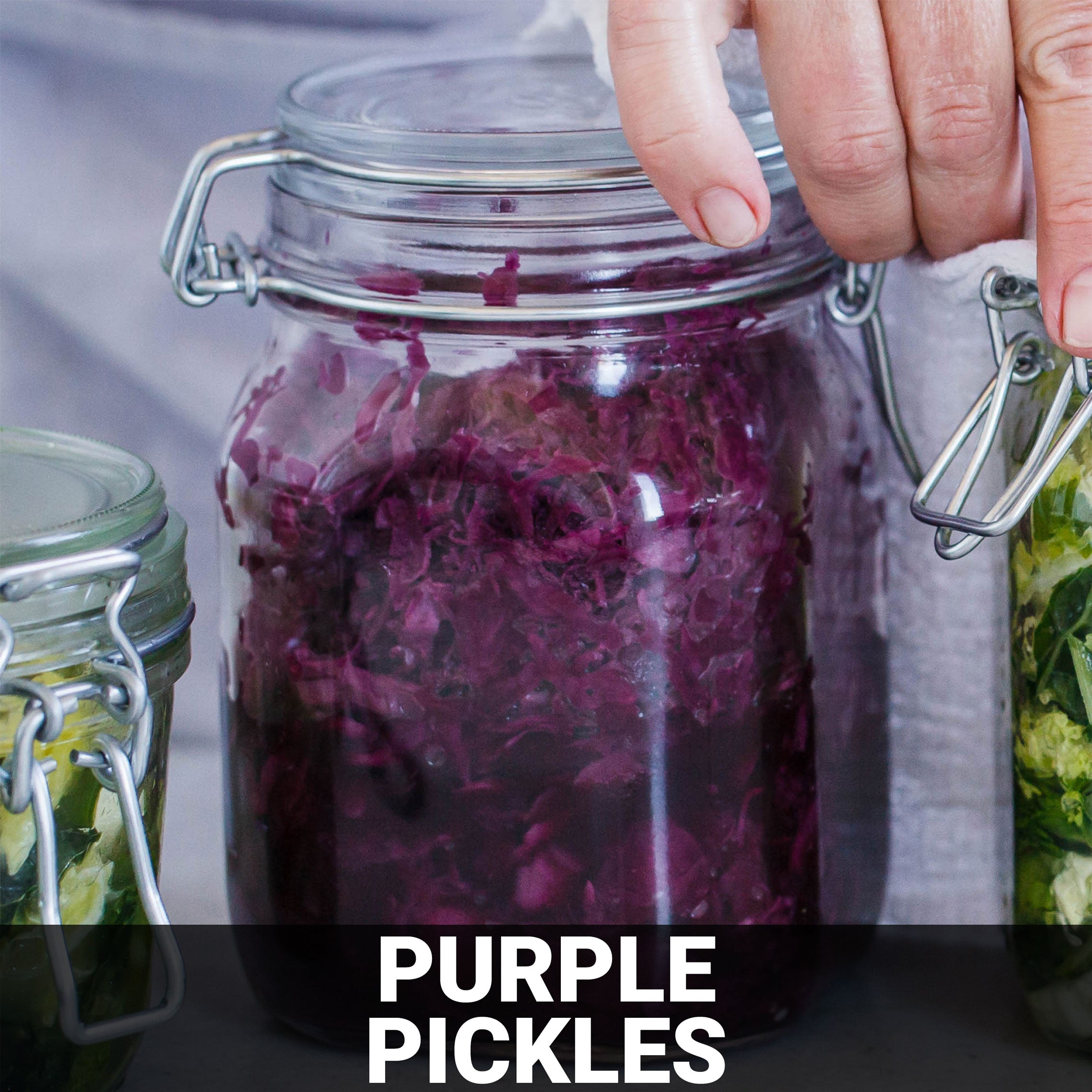 Purple Pickles Recipe - Foods Alive