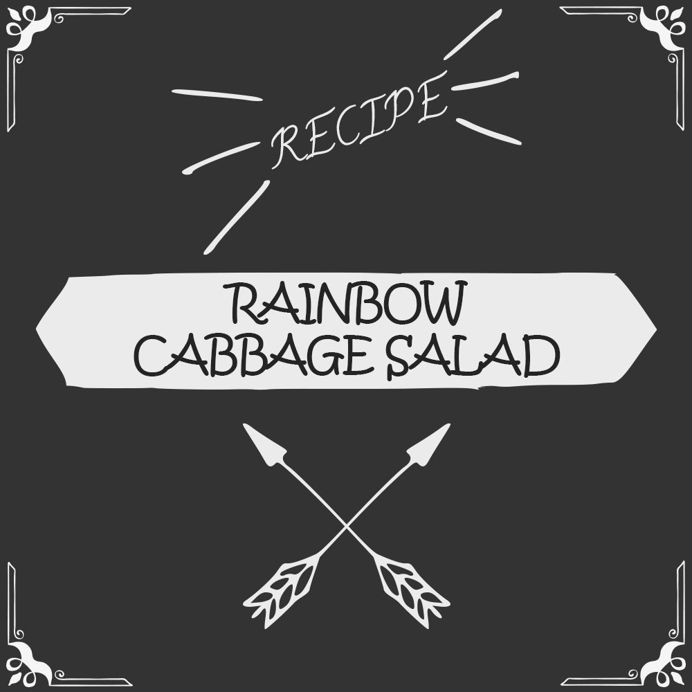 Rainbow Cabbage Salad Recipe - Foods Alive