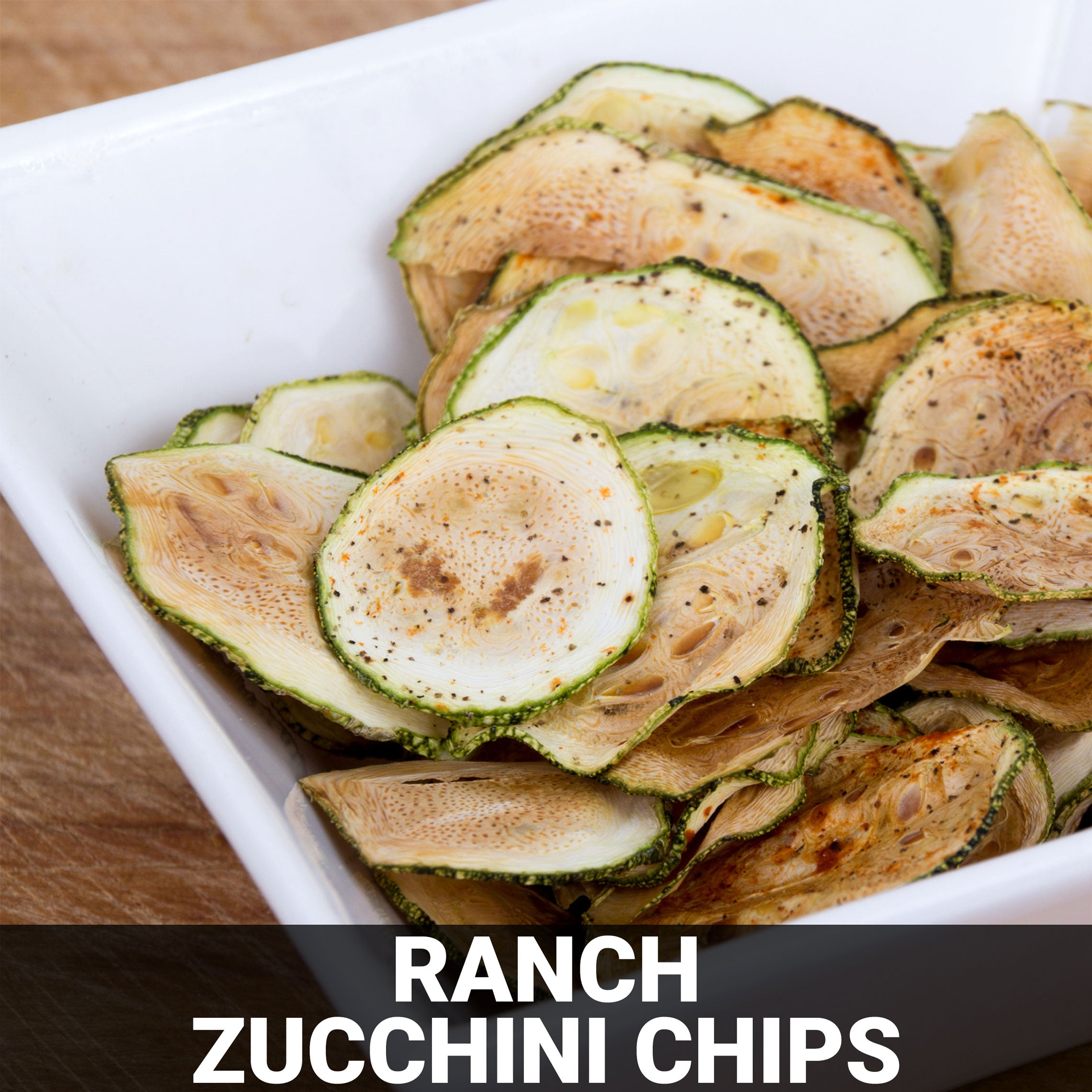 Ranch Zucchini Chips Recipe - Foods Alive
