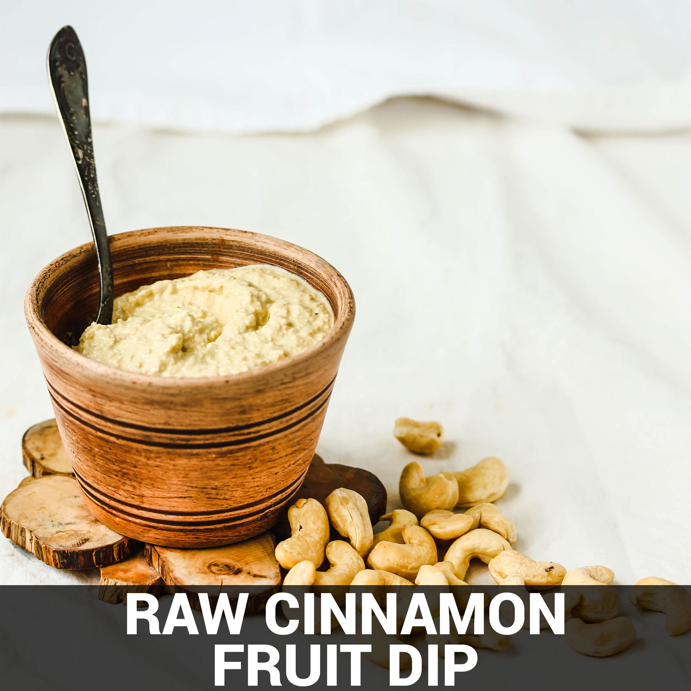 Raw Cinnamon Fruit Dip Recipe - Foods Alive