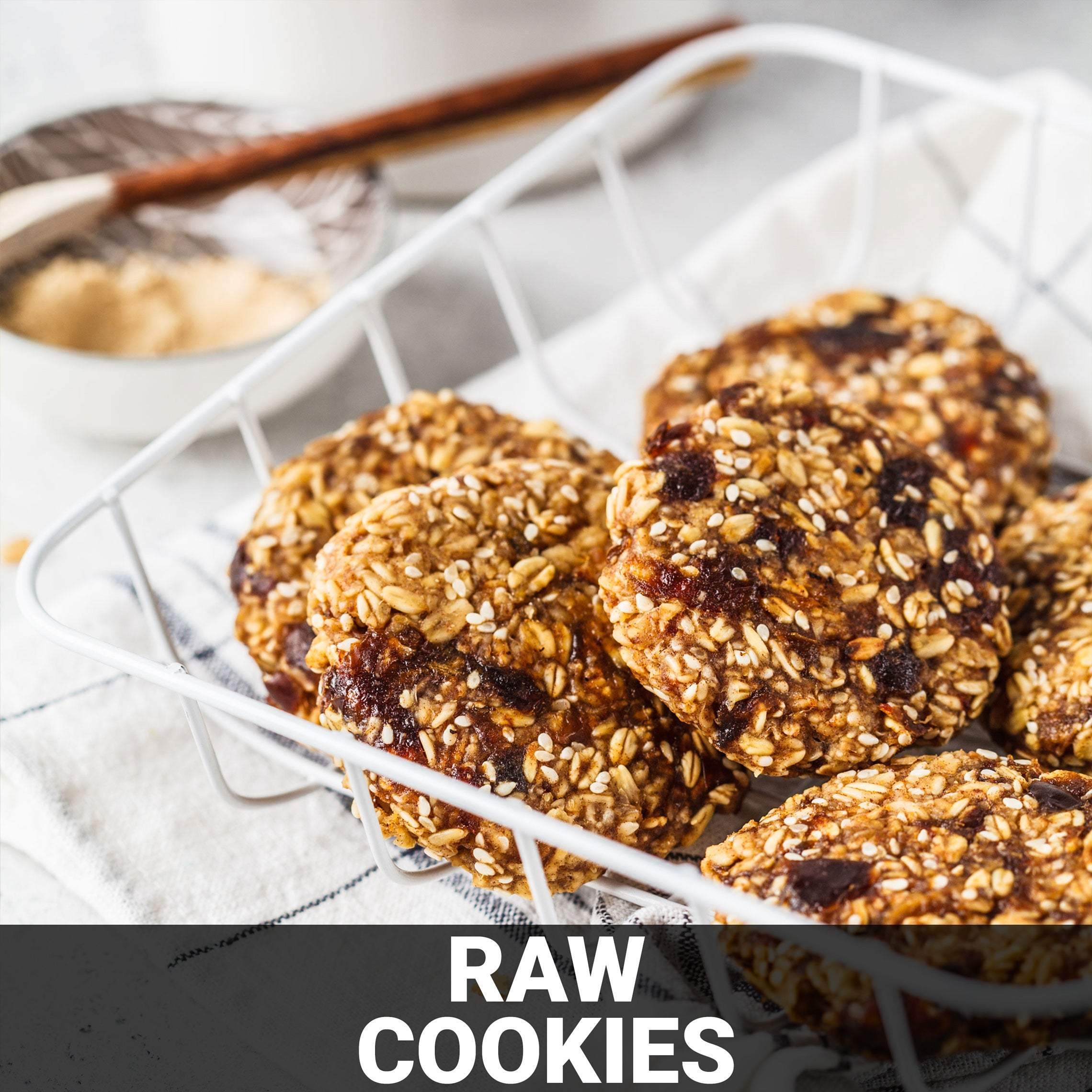 Raw Cookies Recipe - Foods Alive