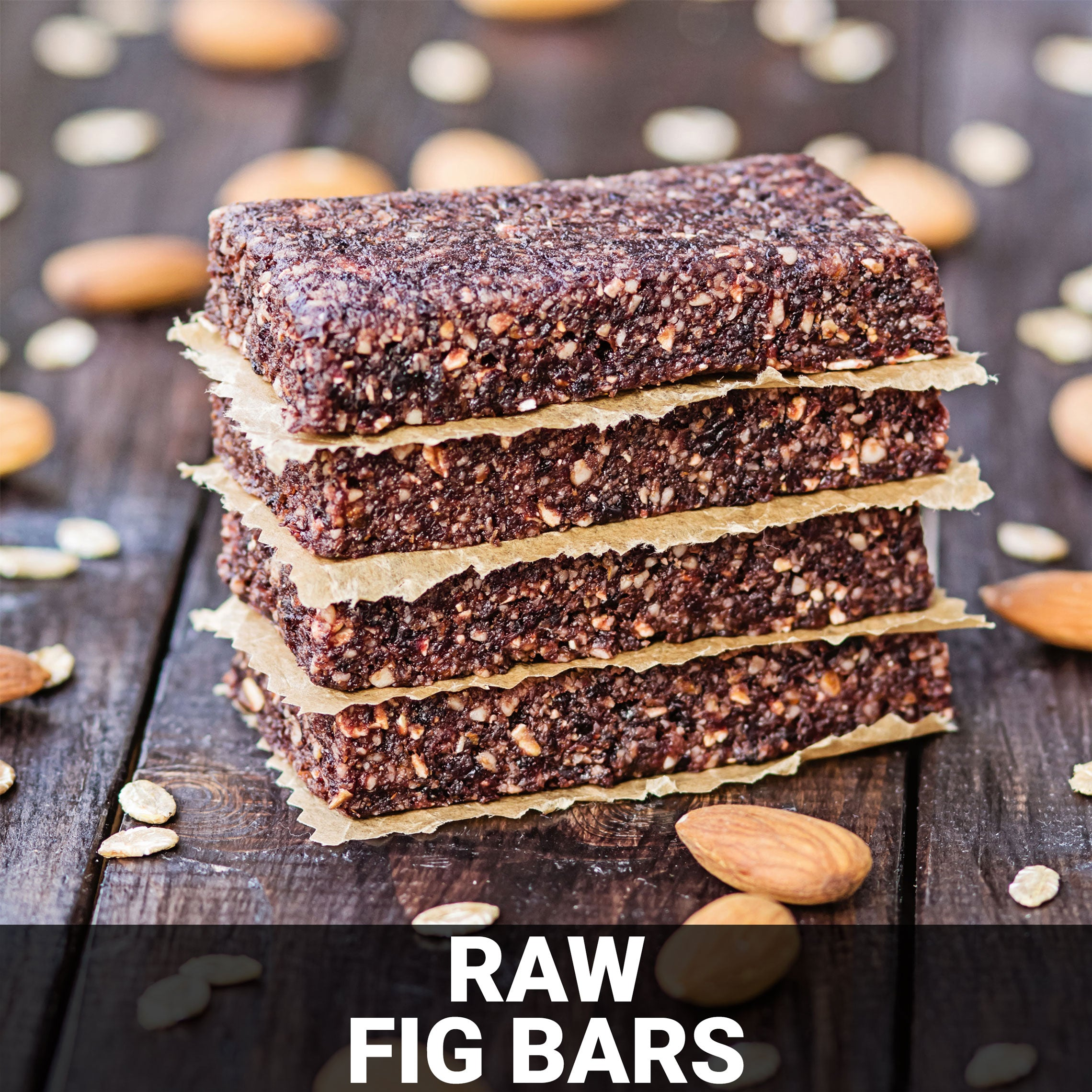 Raw Fig Bars Recipe - Foods Alive