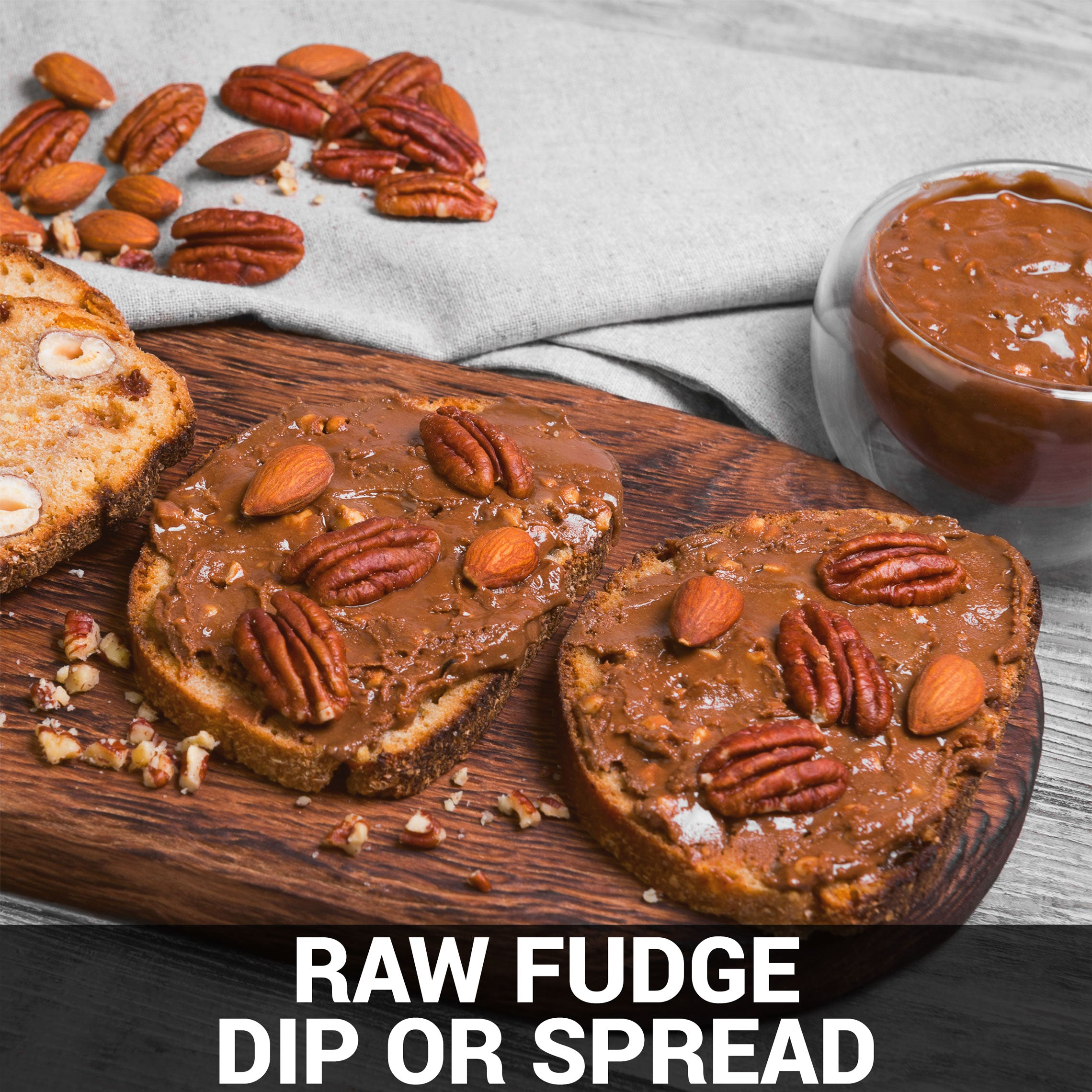 Raw Fudge (Dip or Spread) Recipe - Foods Alive