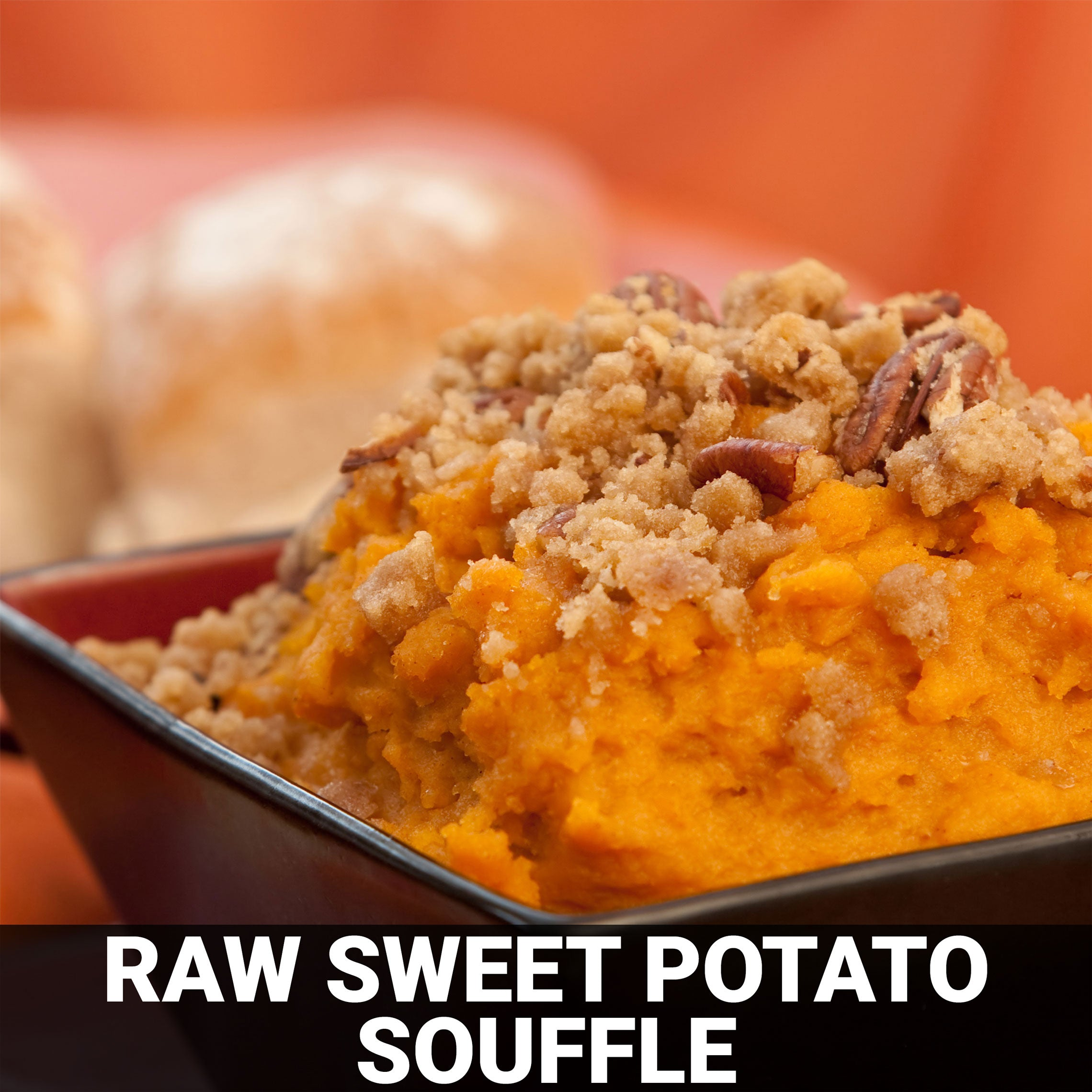 Raw Sweet Potato Souffle Recipe - Foods Alive