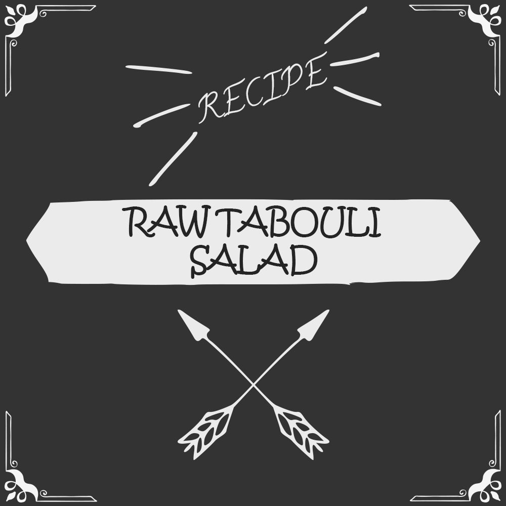 Raw Tabouli Salad Recipe - Foods Alive
