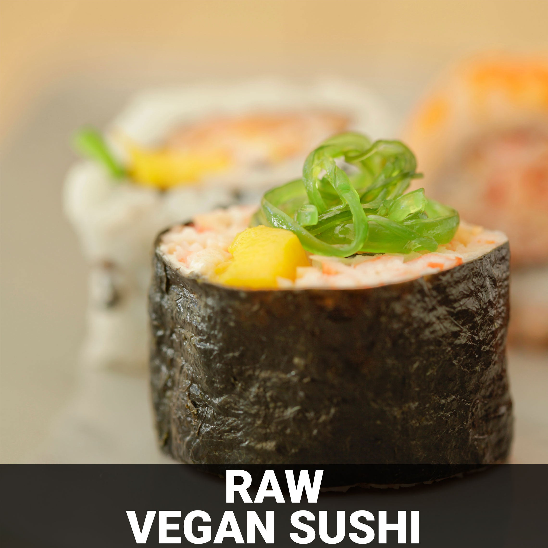 Raw Vegan Sushi Recipe - Foods Alive
