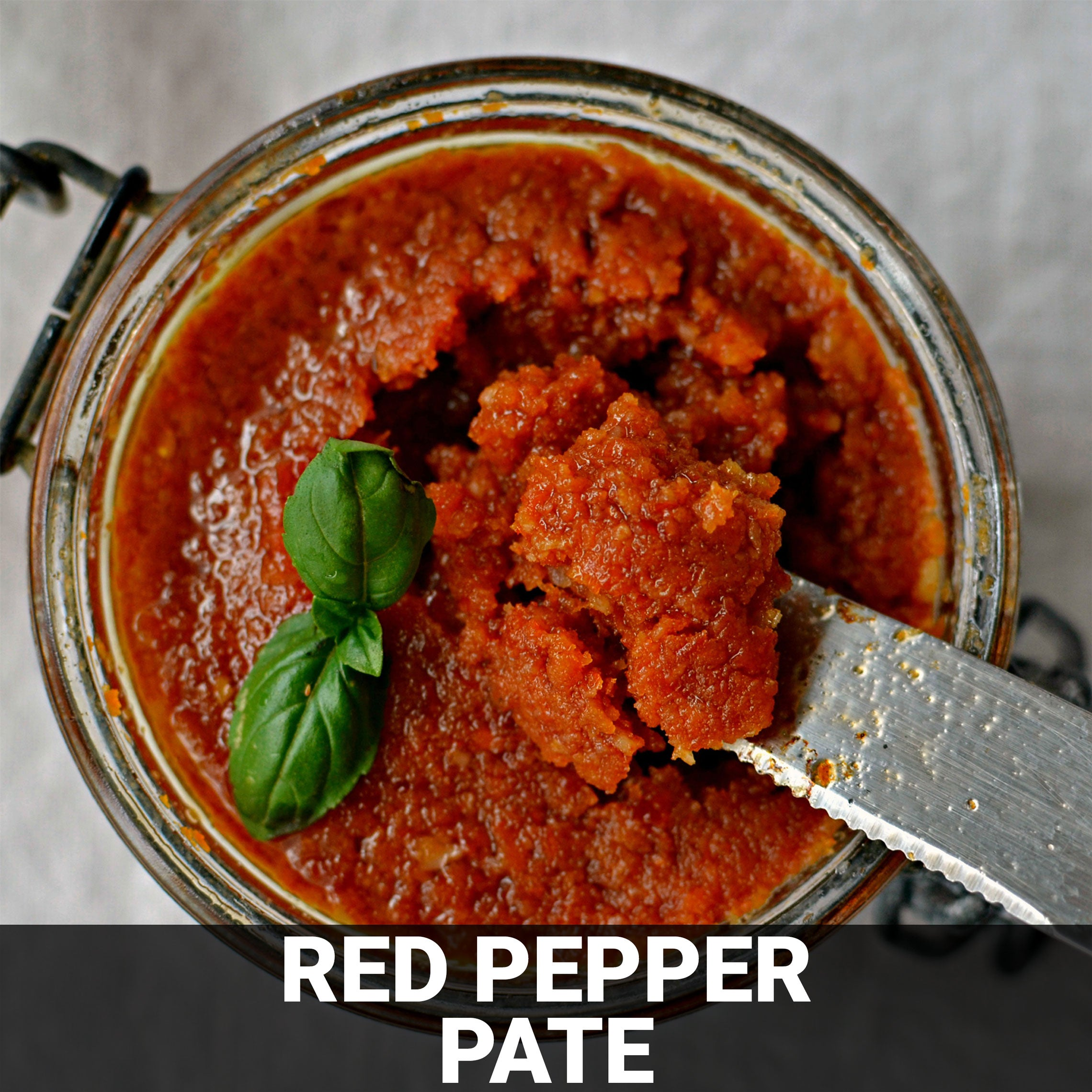 Red Pepper Pate' Recipe - Foods Alive