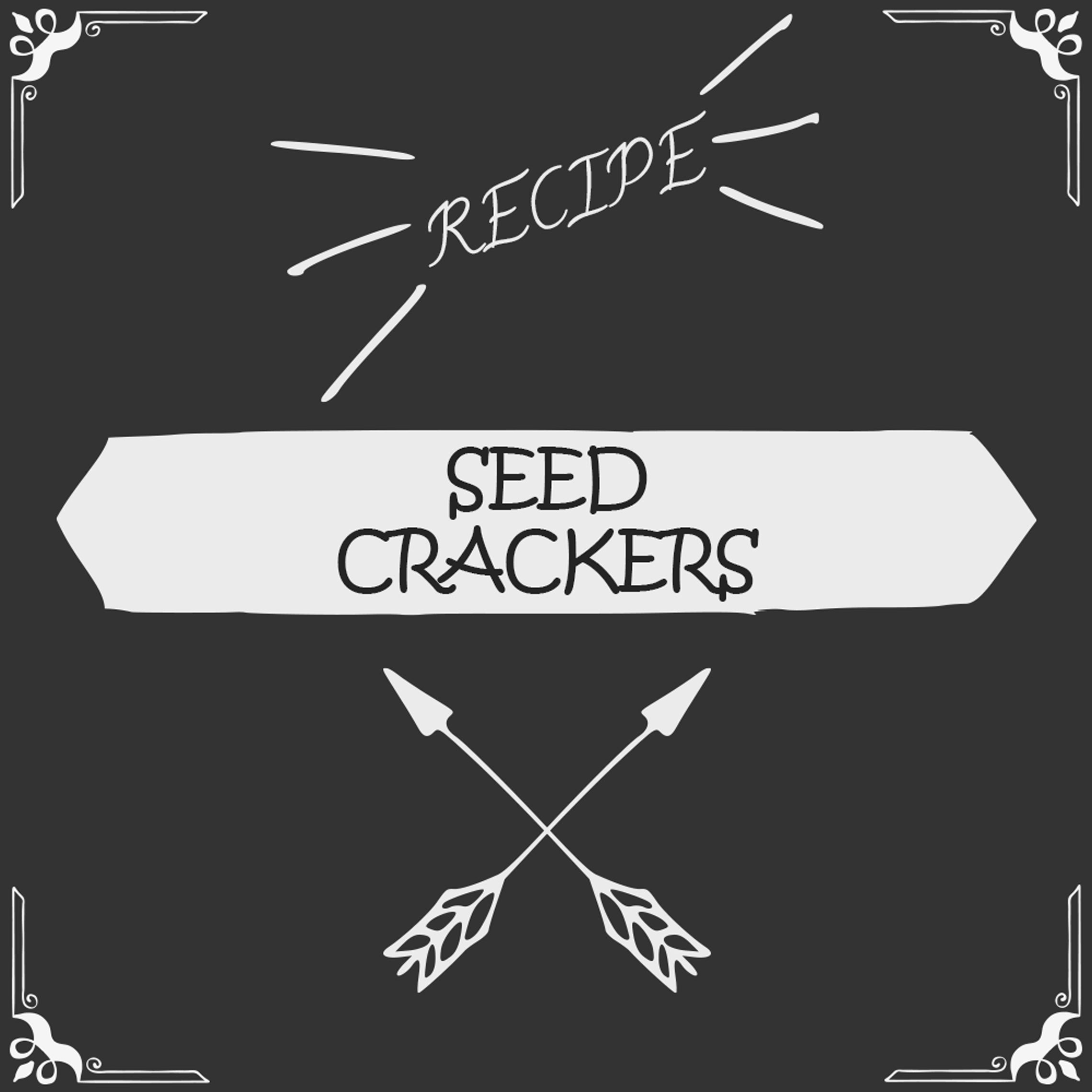 Seed Crackers Recipe - Foods Alive