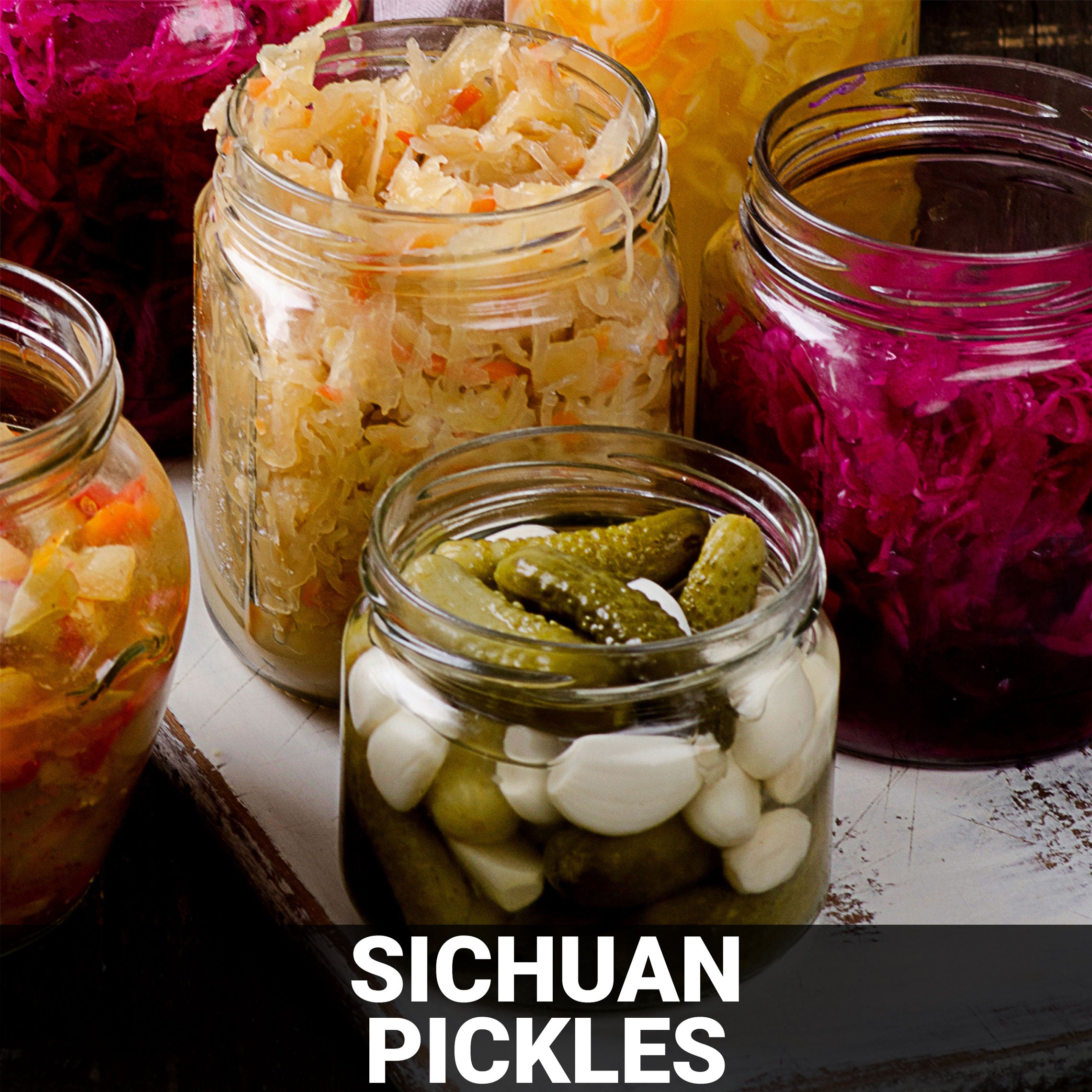 Sichuan Pickles Recipe - Foods Alive