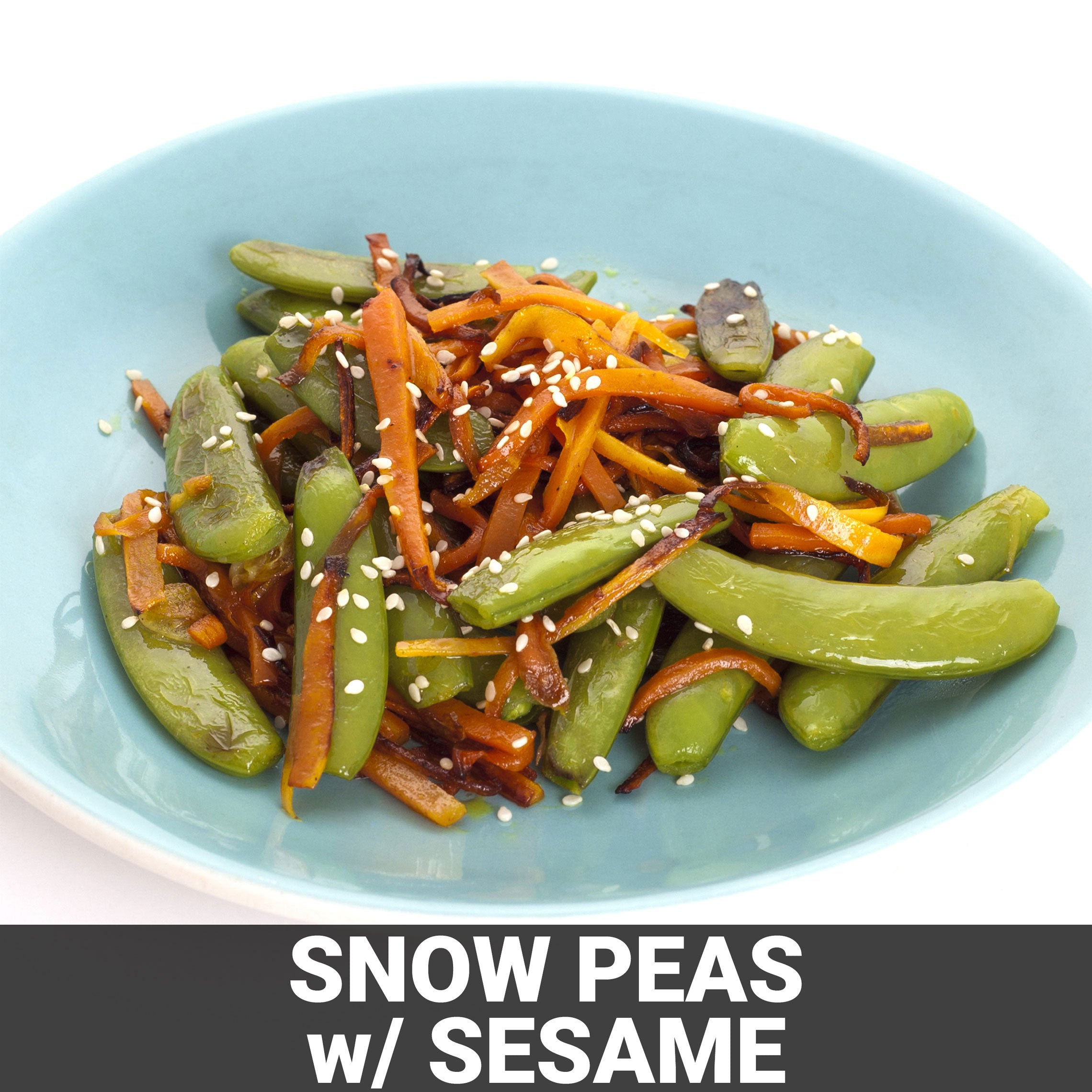 Snow Peas with Sesame Recipe - Foods Alive