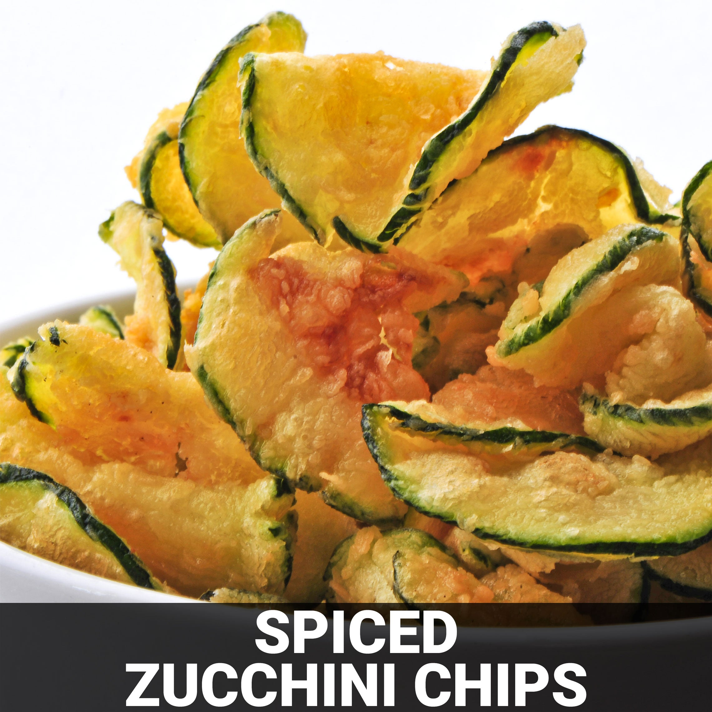 Spiced Zucchini Chips Recipe - Foods Alive