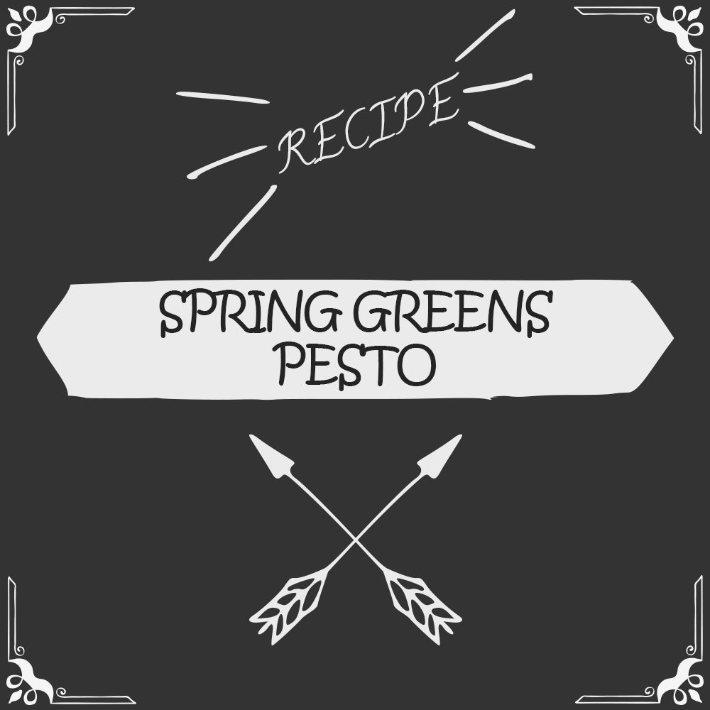 Spring Greens Pesto Recipe - Foods Alive
