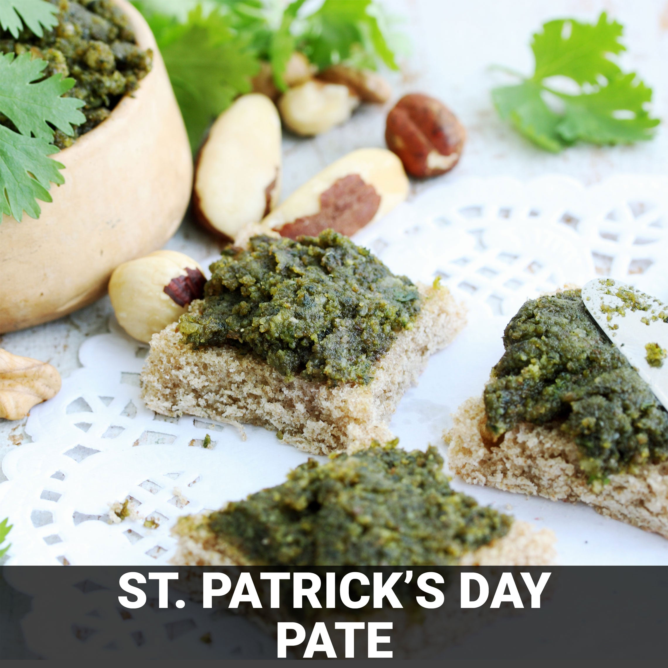 St. Patrick's Day Pate Recipe - Foods Alive