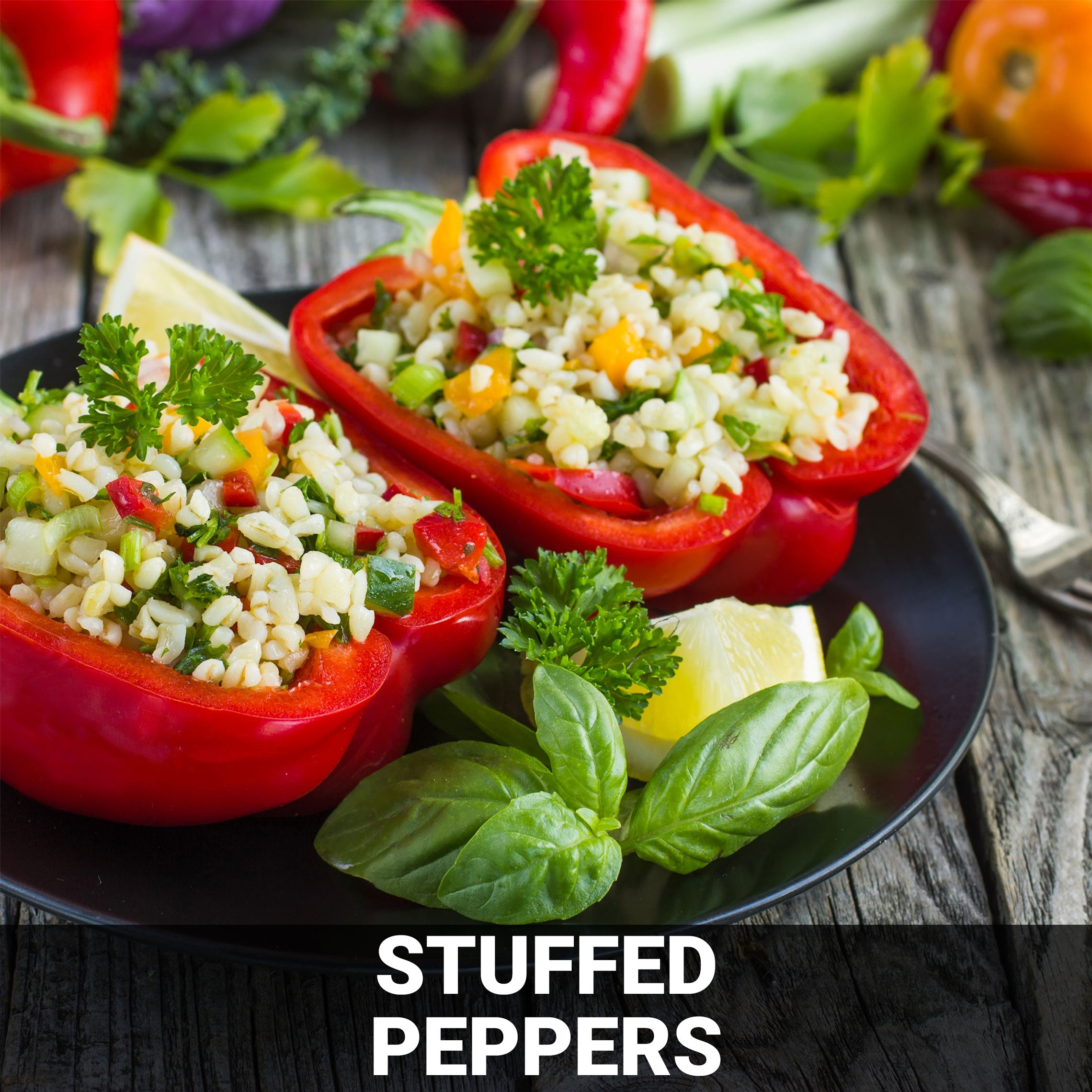 Stuffed Peppers Recipe - Foods Alive