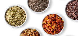 Foods Alive Superfoods - Hulled Hemp, Chia, White Mulberries, Golden Berries, Cacao Nibs - Organic
