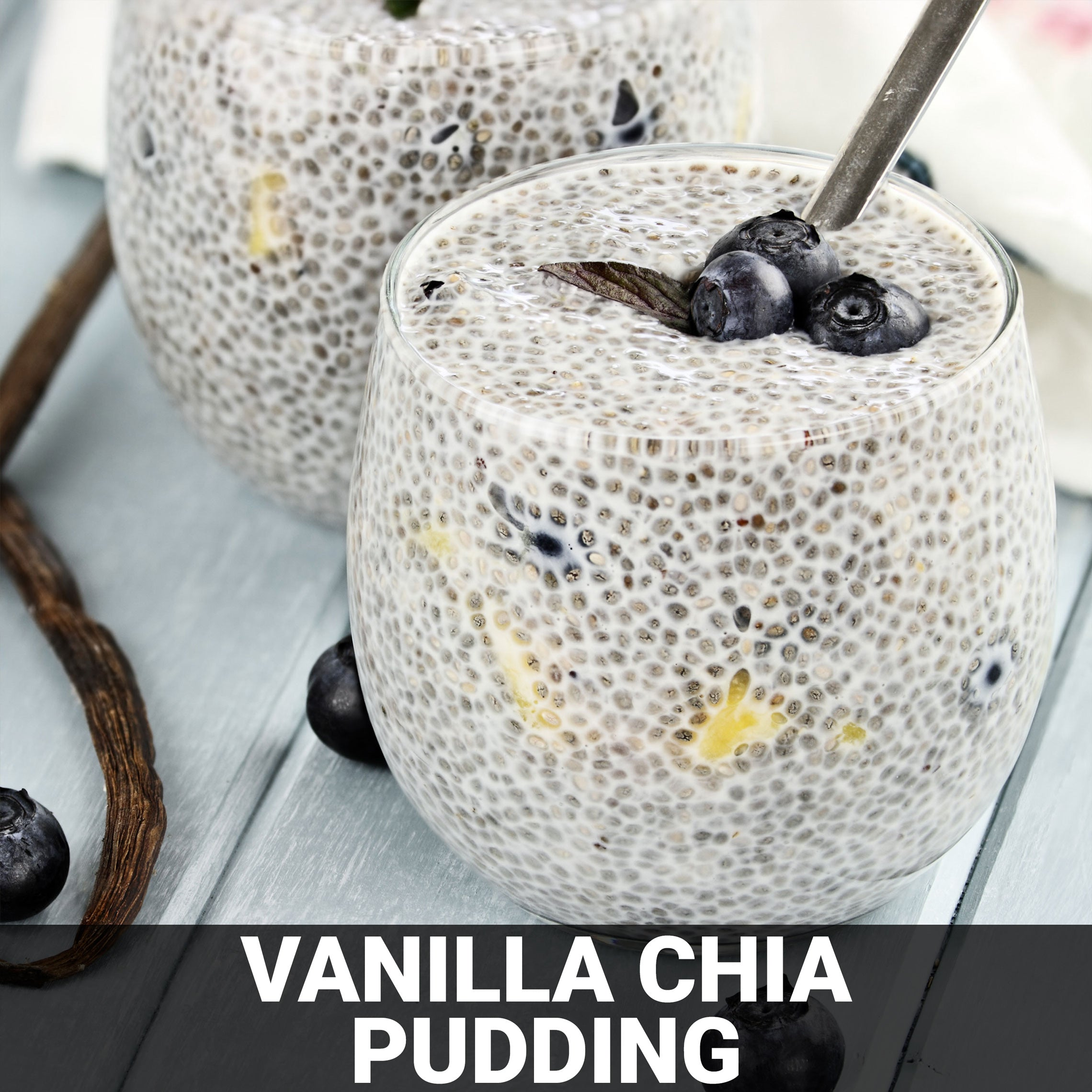 Vanilla Chia Pudding Recipe - Foods Alive