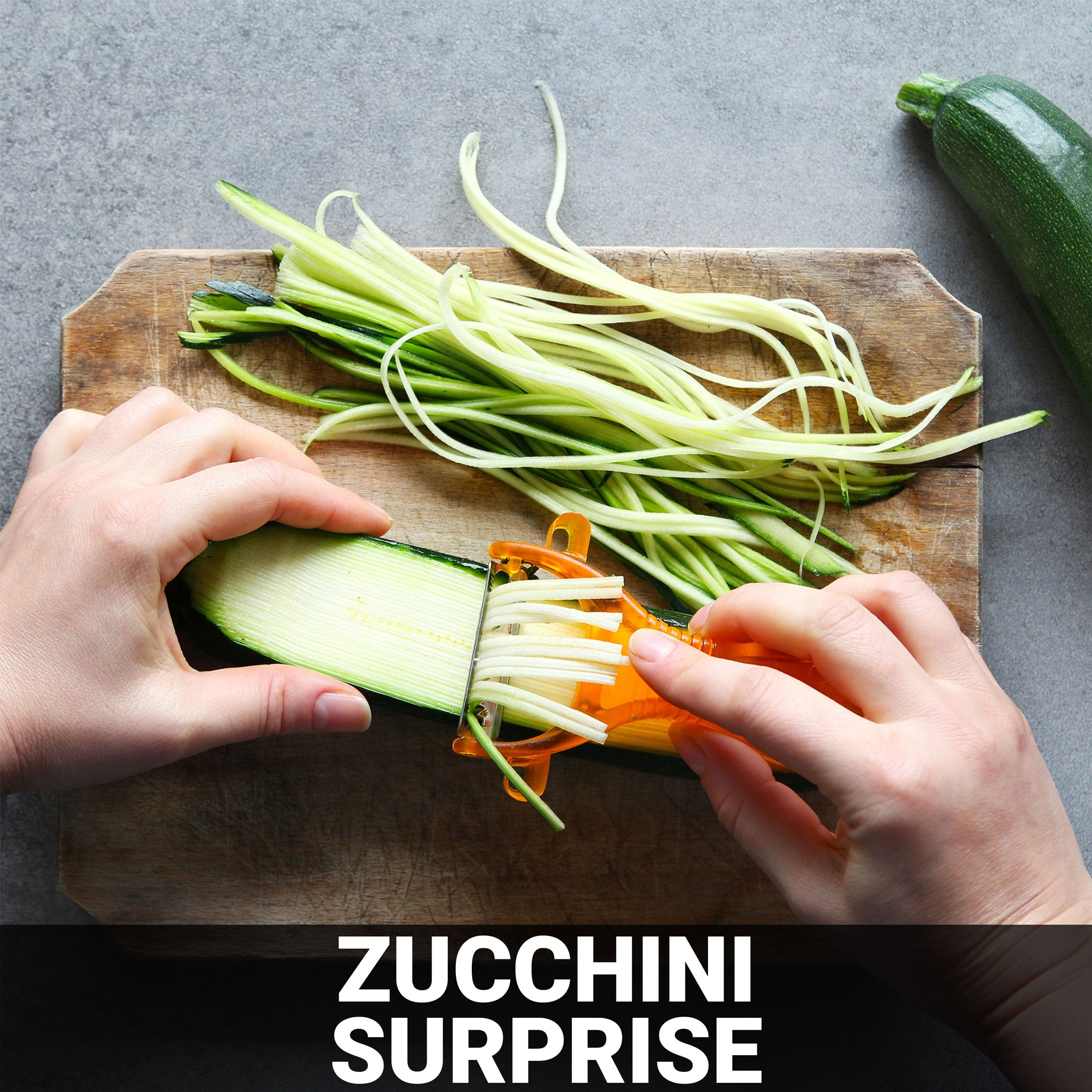 Zucchini Surprise Recipe - Foods Alive