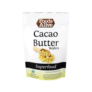 Cacao Butter Wafers - Organic - 8oz - Foods Alive