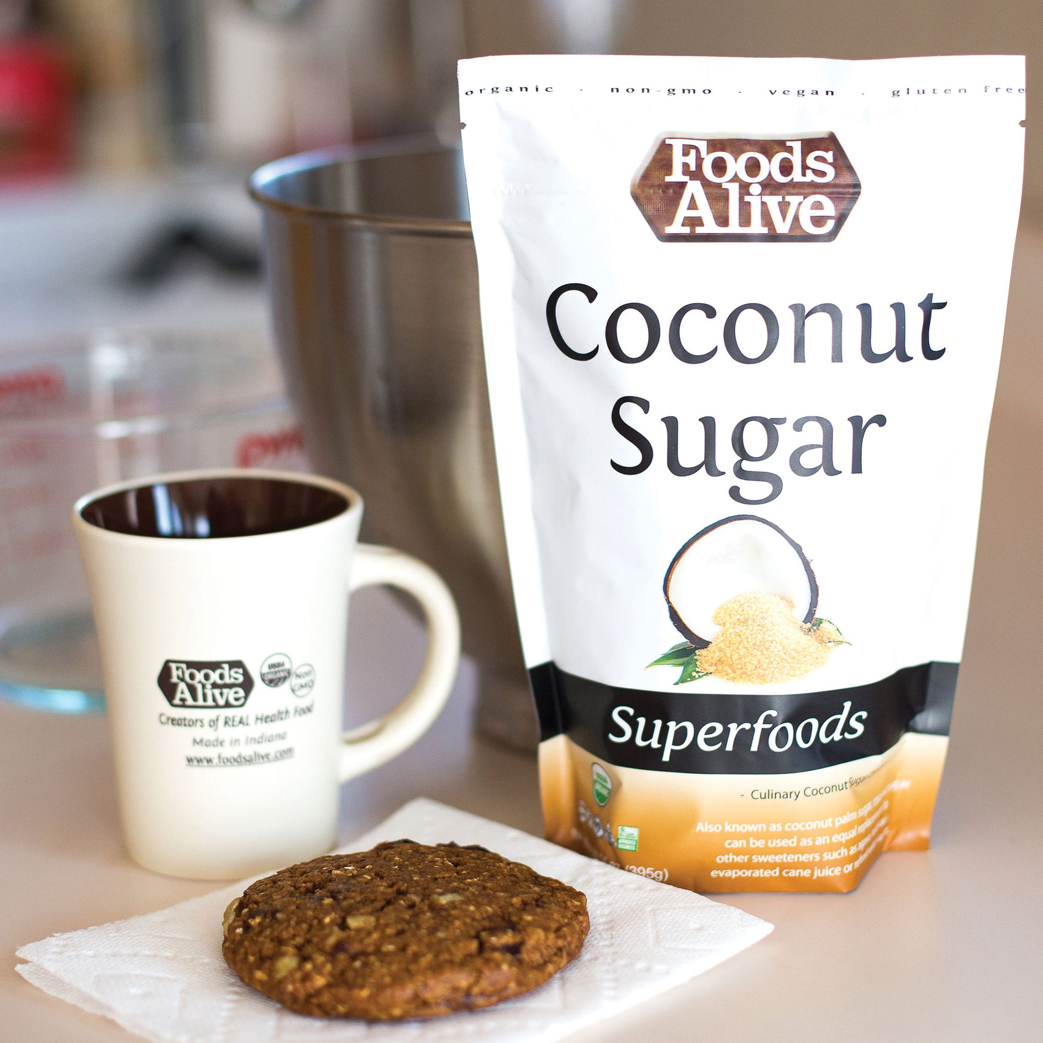 Foods Alive - Organic Coconut Sugar - 14 oz