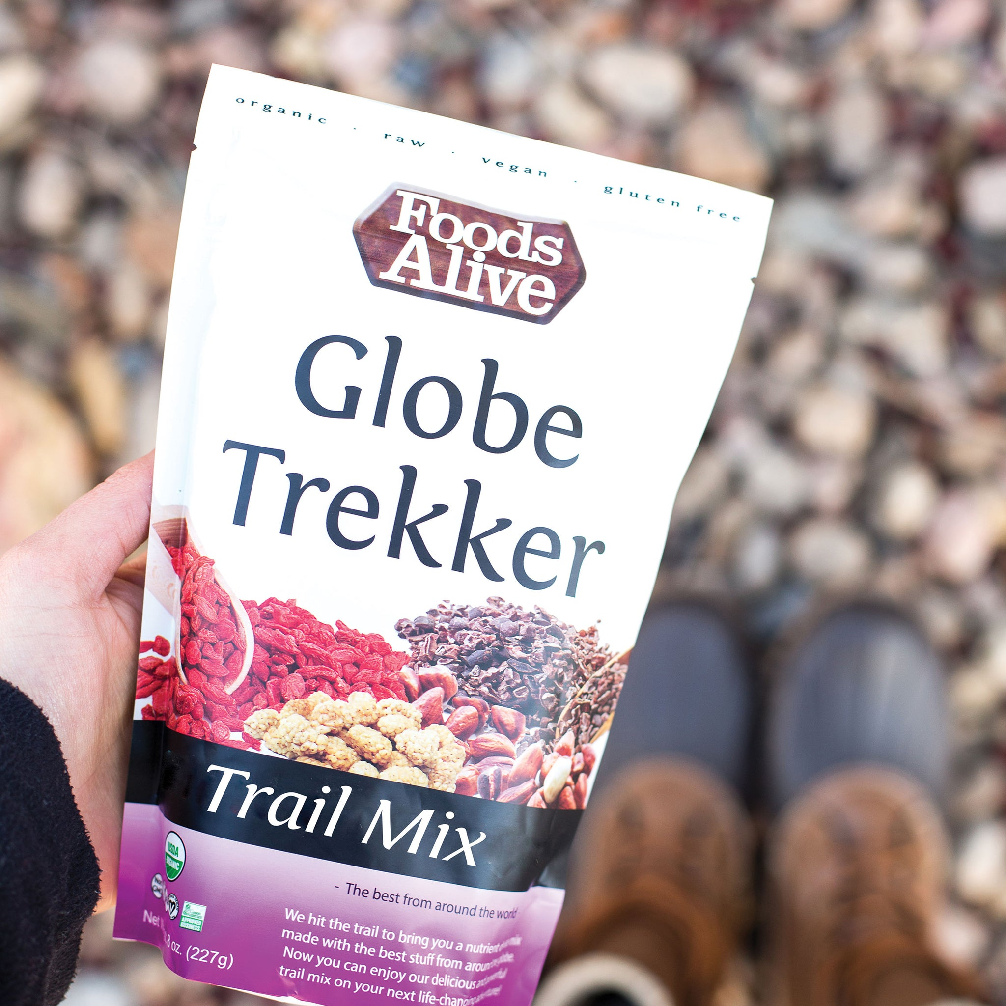 Organic Globe Trekker Trail Mix - 8oz - Foods Alive