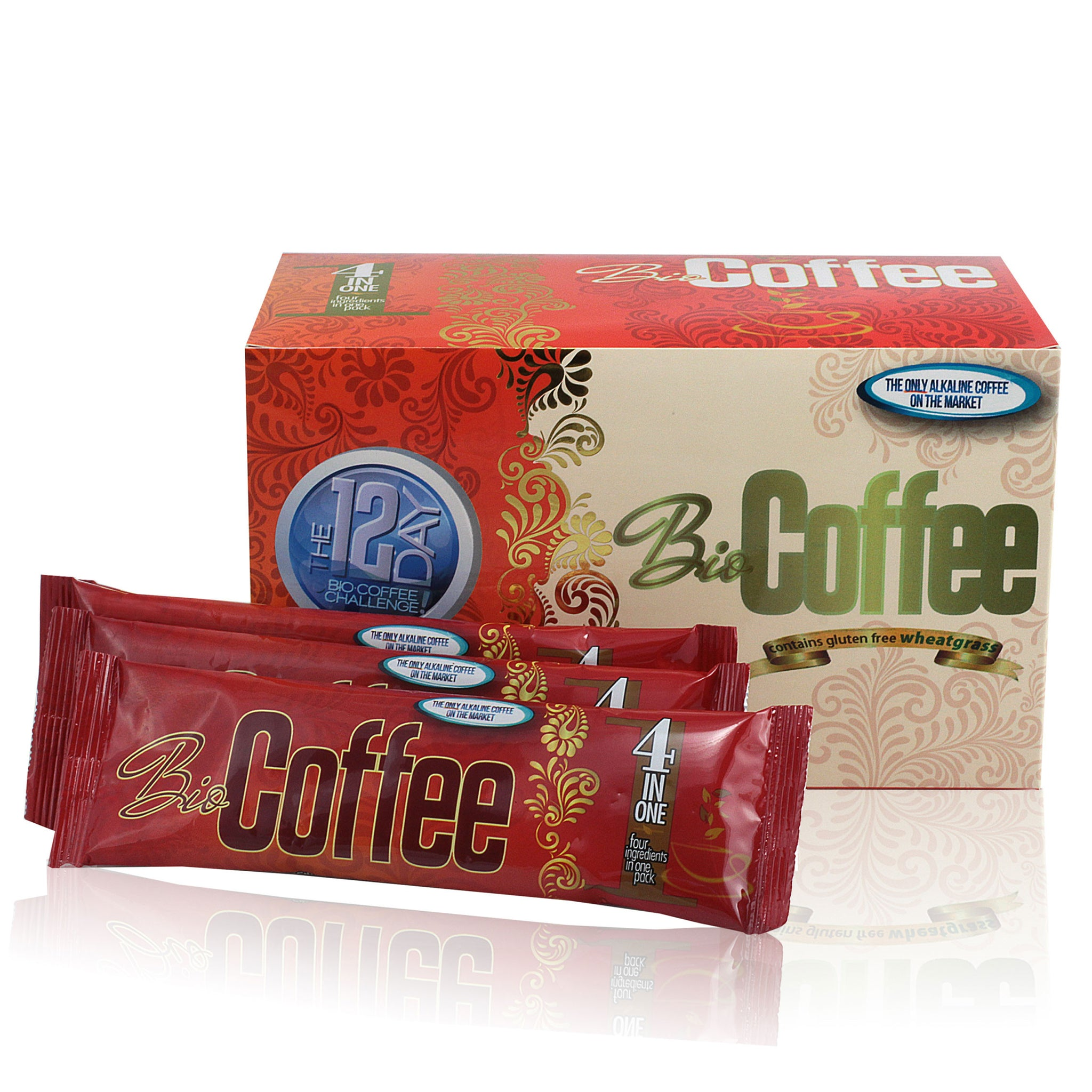 Foods Alive - Bio Coffee - Alkalizing Coffee with Wheatgrass Front