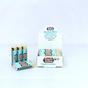 Foods Alive - Organic Hemp & Chia Herbal Lip Balm