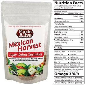 Super Salad Sprinkles - Mexican Harvest - Foods Alive