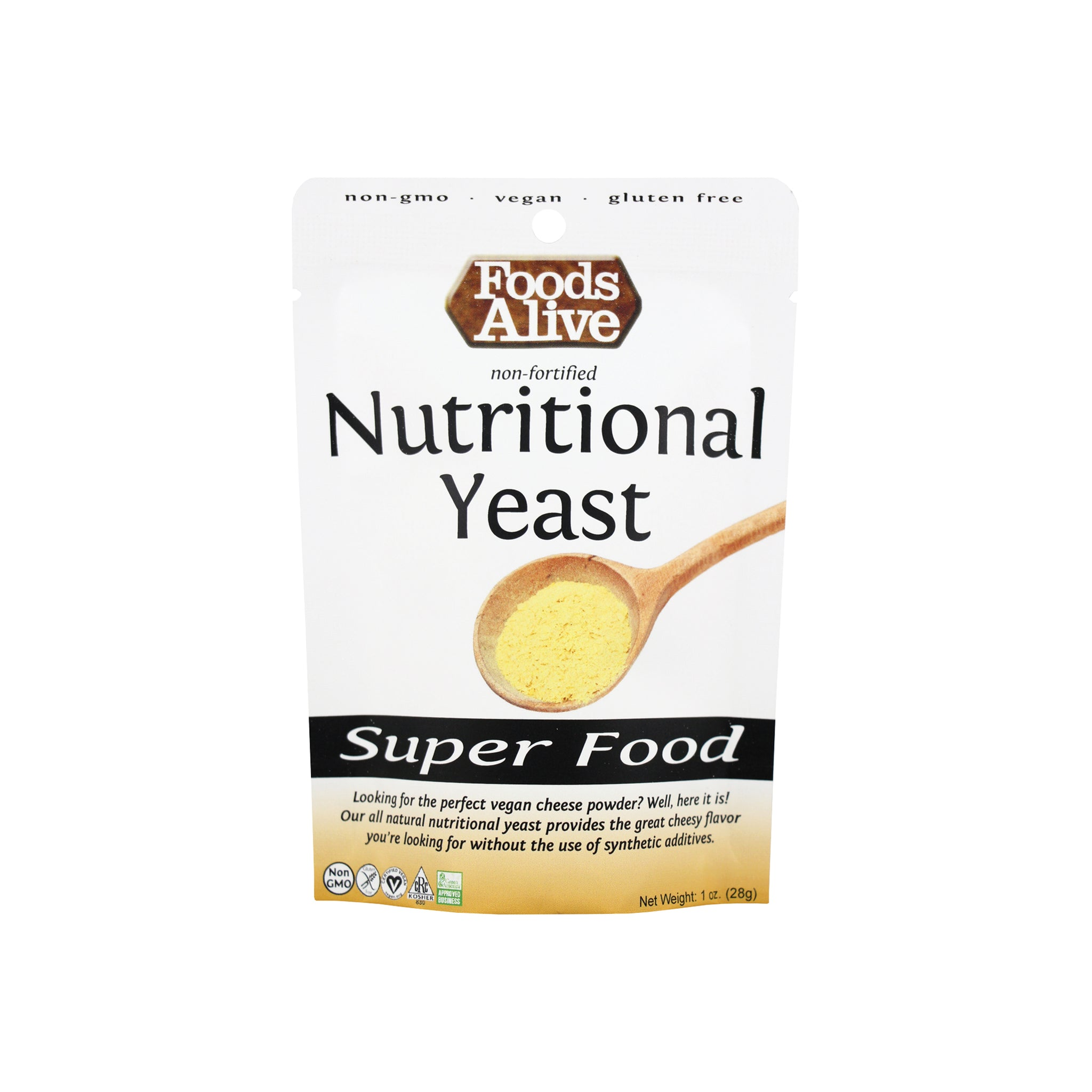 Foods Alive - Nutritional Yeast - 1 oz