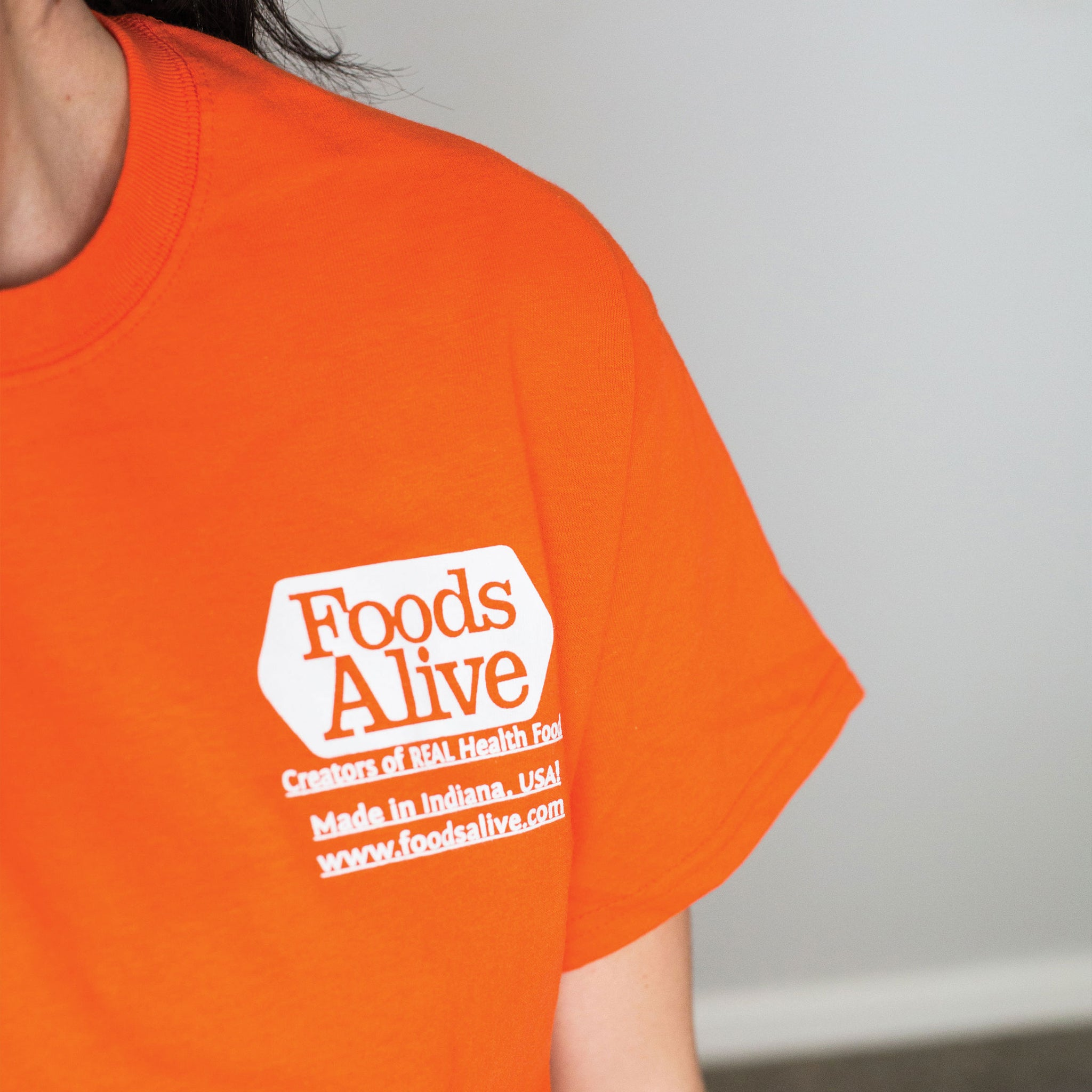 Foods Alive - T-Shirt Front