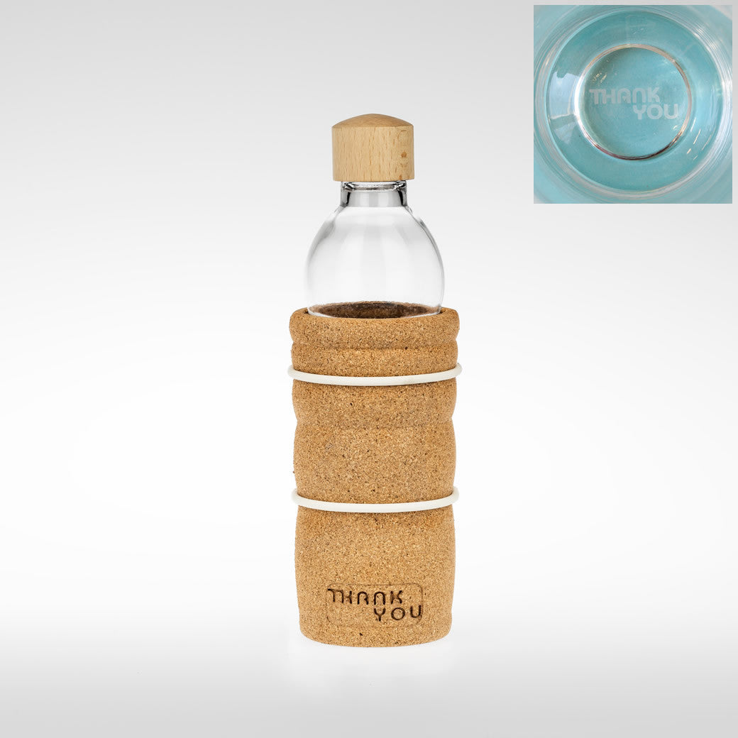 Energy Glassware - Thank You Bottle 0.5L - Foods Alive