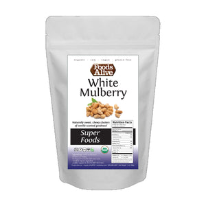 Foods Alive - Organic Mulberries - Sample 1oz - Front