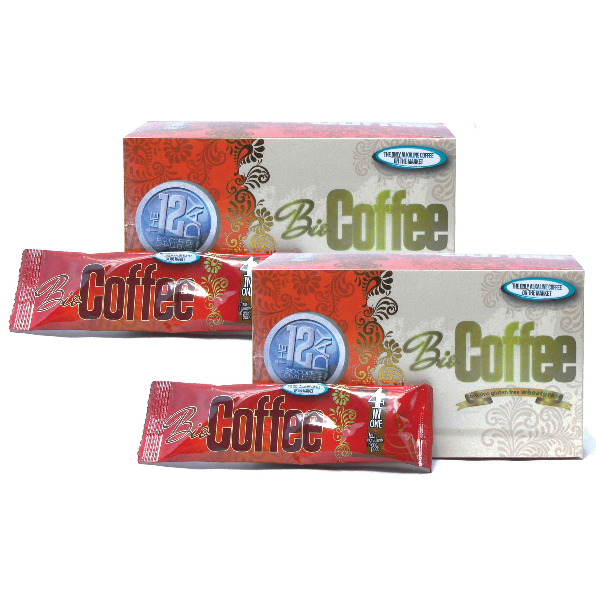 Foods Alive - Bio Coffee - Alkalizing Coffee with Wheatgrass 2-Pack