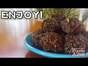 Foods Alive How To Make Cacao Maca Energy Balls Recipe