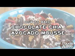 Foods Alive  How to Make Chocolate Chia Avocado Mousse Recipe