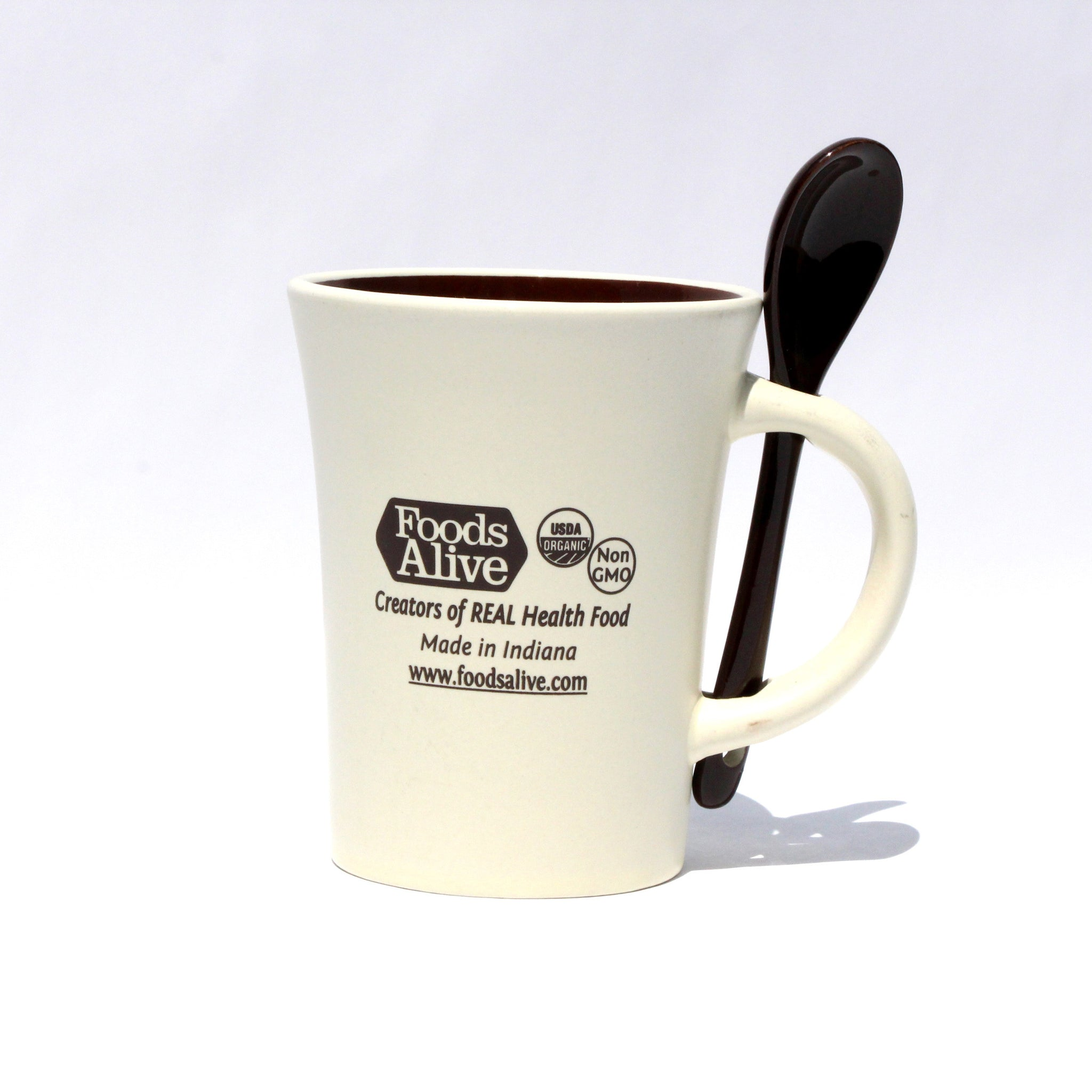 Foods Alive - Mug With Spoon
