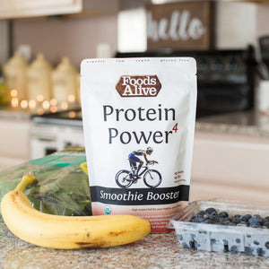 Organic Protein Power 4 Smoothie Booster - 8oz - Foods Alive