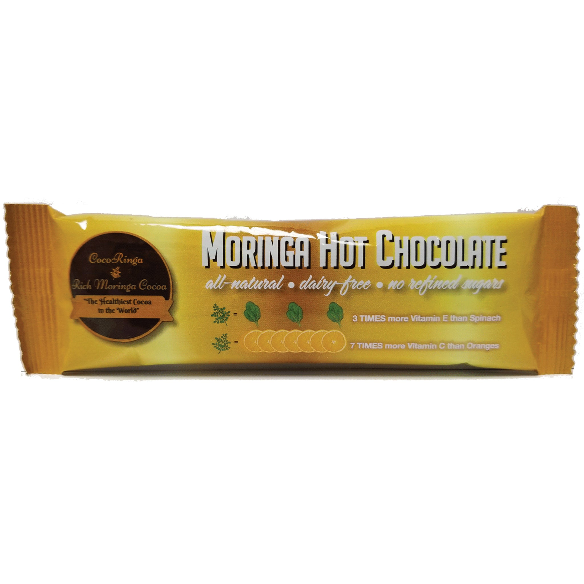 CocoRinga - Moringa Hot Chocolate - Single Packet - Foods Alive
