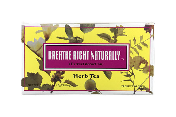 Allergies | Breathe Right Naturally Herb Tea (Hua Fen Min Gan Cha) | rootandspring.com