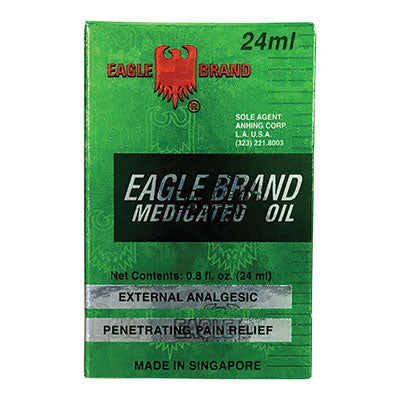 Eagle Brand Medicated Green Oil for Penetrating Pain Relief