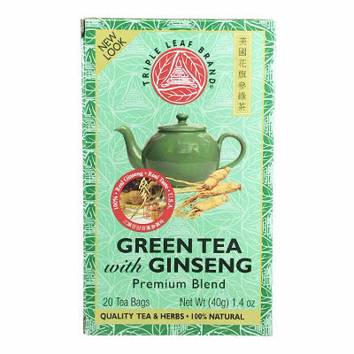 Herbal Teas | Green Tea With Ginseng All Natural Herbal Tea | rootandspring.com