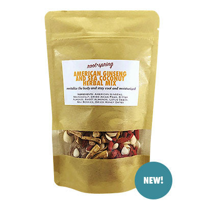 Chinese Herbal Soups | American Ginseng and Sea Coconut | rootandspring.com