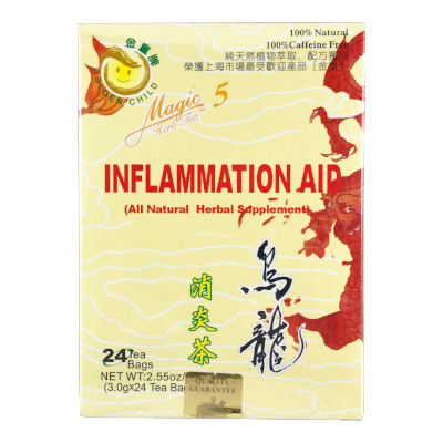 Herbal Teas | Magic 5 Inflammation Aid Tea | rootandspring.com